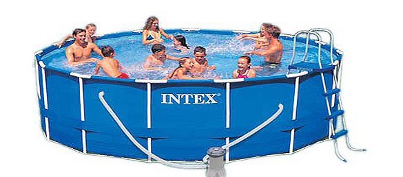 Intex 15 Foot by 48 Inch Family Size Round Metal Frame Pool Set 3 Intex Above Ground Pools That You Shouldnt Ignore